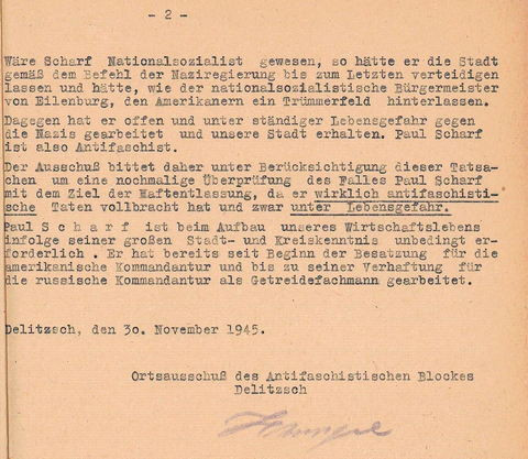 Antifa-Brief fr Scharf S.2a